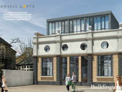 Screen capture of the development brochure at ansell-lofts.co.uk