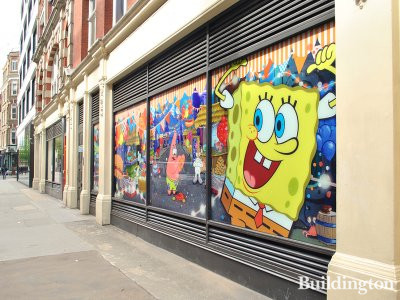 Spongebob Squarepants and Nickelodeon offices were at 15-18 Rathbone Place in 2012
