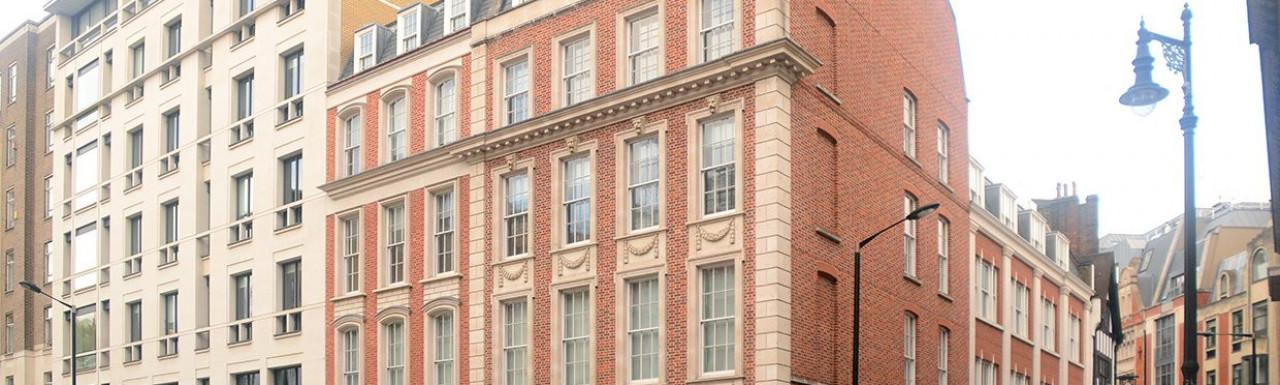 28-29 St George Street building in Mayfair, London W1.