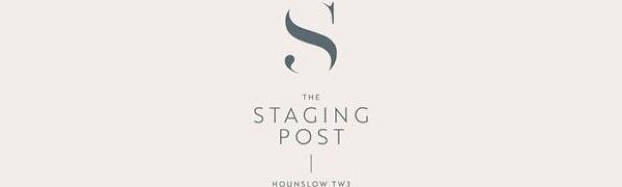 The Staging Post development logo.