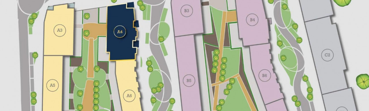 Site map of New Union Wharf
