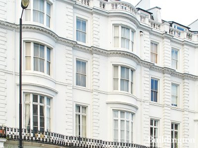 143-145 Gloucester Terrace Victorian terraced house in Bayswater, London W2.