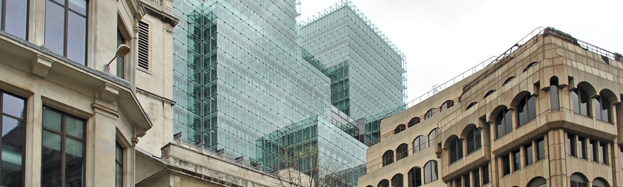Plantation Place office building in the City of London EC3.