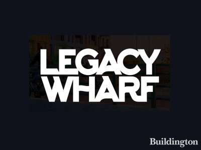 Legacy Wharf development by Bellway in Stratford, London E15.