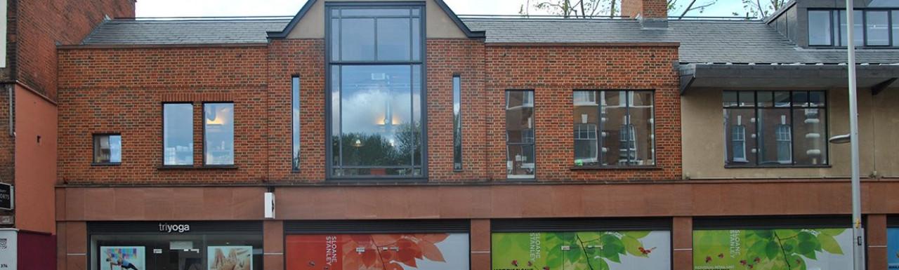 356-372 King's Road building in Chelsea, London SW3.