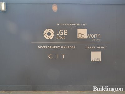Lancer Square development by LGB Group and Bellworth. Development manager CIT and sales by Savills.