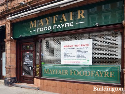 Mayfair Food Fayre has moved 40 yards just around the corner to 33 North Row in Mayfair, London