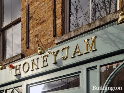 Honeyjam at 2 Blenheim Crescent in 2013 (now closed permanently).