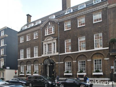 Curzon House at 21-23 Curzon Street in Mayfair, London W1.