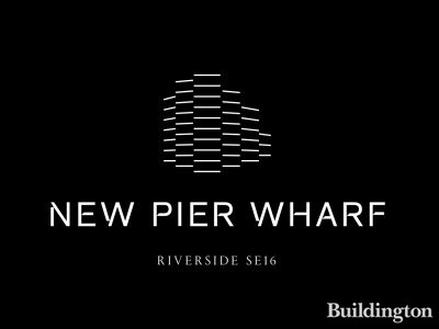 New Pier Wharf development logo.