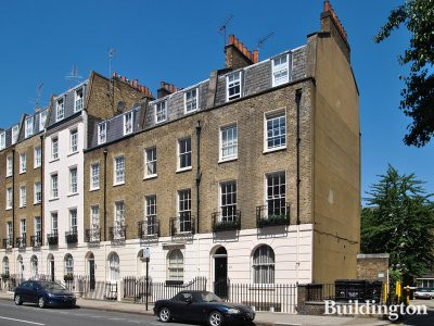 101 Eaton Terrace building in Belgravia, London SW1.