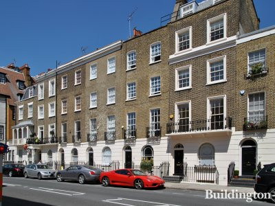 33 Eaton Terrace building in London SW1.