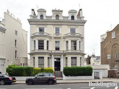 35 Holland Park Grade II listed building in London W11.