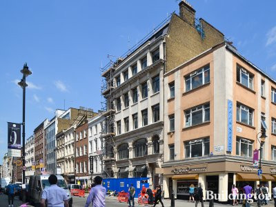 Minerva House at 26-27 Hatton Garden in London EC1.