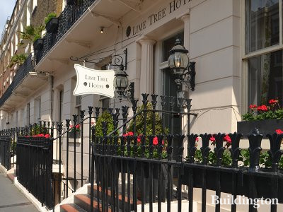 Lime Tree Hotel at 135 Ebury Street in Belgravia, London SW1.