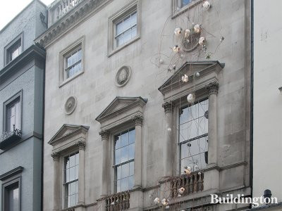 Ely House at 37 Dover Street in Mayfair, London W1.