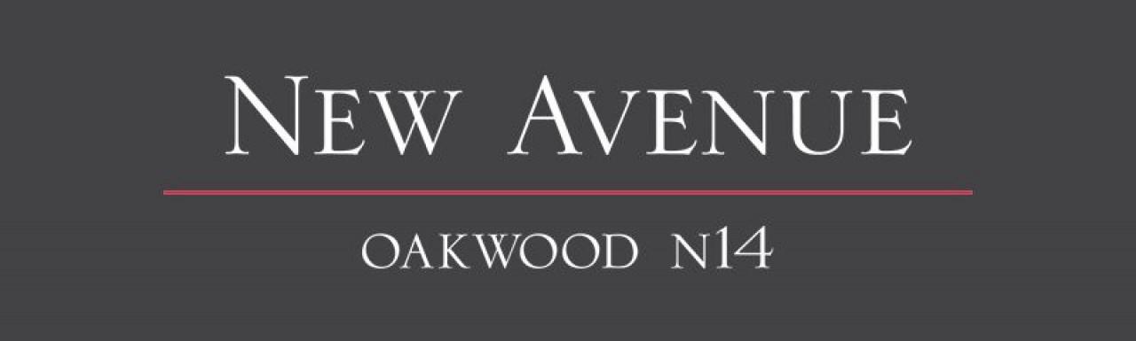 Logo for the New Avenue development by Countryside Properties in Oakwood, London N14.