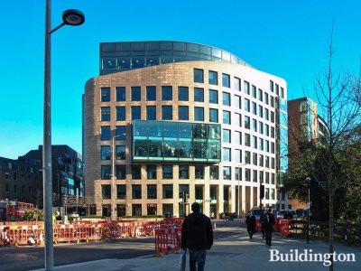 40 Holborn Viaduct office building in London EC1.
