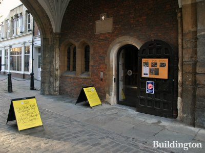 Entrance to the museum at St John's Gate