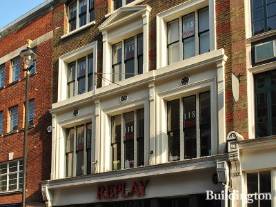 Replay at 32-33 Long Acre in Covent Garden, London WC2.