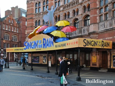 Singin' in The Rain at Palace Theatre in January 2012.