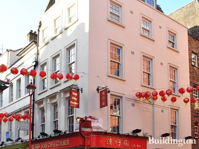 Wan Chai Corner at Tang House on Gerrard Street in London W1.