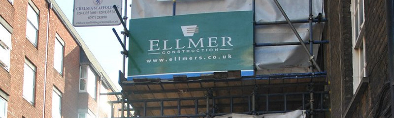 Ellmer Construction at Hop House in February 2014
