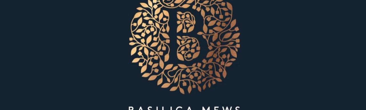 Basilica Mews logo basilicamews.com