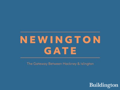 Newington Gate development by Hill in Stoke Newington, London N16.