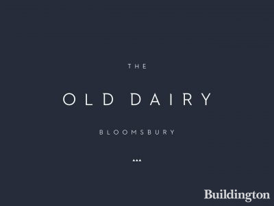 The Old Dairy development in Bloomsbury, London WC1.