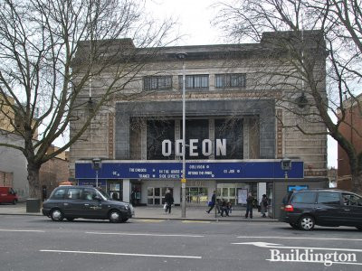 Odeon movie theatre on the site in 2013. Playing GI Joe and The Croods.