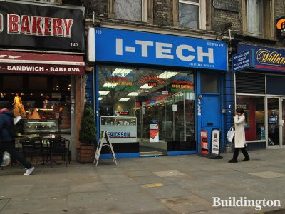 i-tech at 138 Uxbridge Road in London W12.