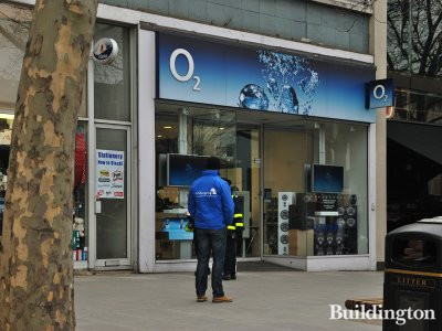 O2 store at United House in 2013.