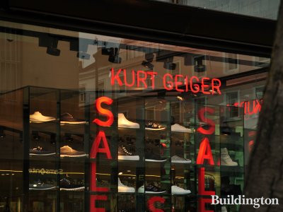 Kurt Keiger store at Whiteleys in 2013