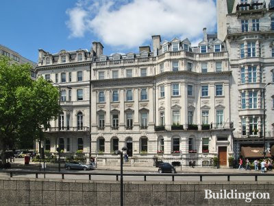 Grade II listed Eon House at 138 Piccadilly in Mayfair, London W1.
