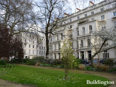 18 Cleveland Square terraced house