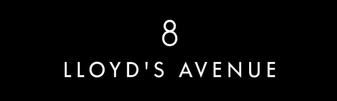 8 Lloyd's Avenue logo.