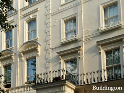 11 Clifton Gardens Victorian terraced house in London W9.
