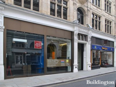 Newly refurbished Grade A office accommodation advertised by Farebrother and Savills at 90 Chancery Lane in 2013.