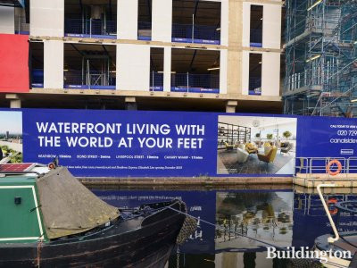 No. 3 Canalside Walk - Waterfront living with the world at your feet.