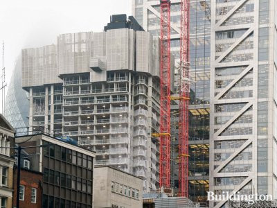 One Bishopsgate Plaza development update - construction in process autumn 2018.