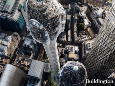 The Tulip development in the City of London EC3