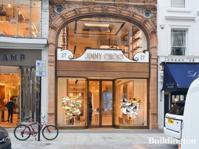 Jimmy Choo at 27 New Bond Street in Mayfair, London W1.