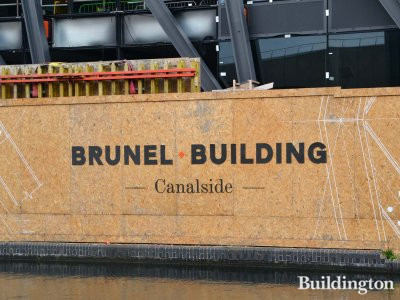 Brunel Building by the Grand Union Canal in Paddington, London W2.