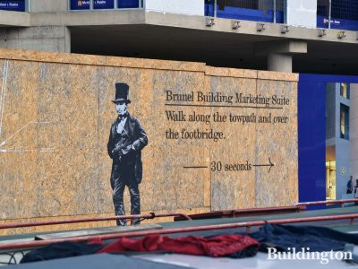The development was named after Paddington Station engineer Isambard Kingdom Brunel