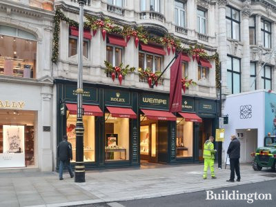 Wempe Jewelers at 43-44 New Bond Street in November 2018.