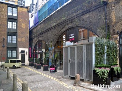 The Stage sales and marketing suite is off Great Eastern Street in Fairchild Place, London EC2.