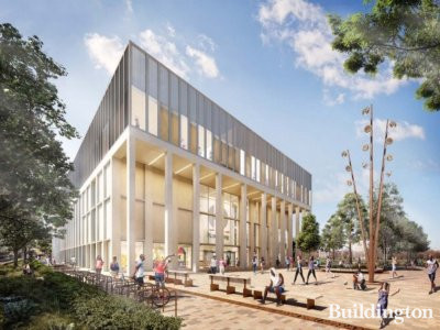 CGI of the new Britannia Leisure Centre