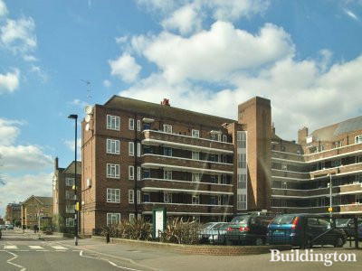 Linslade House on Whiston Estate in London E2.