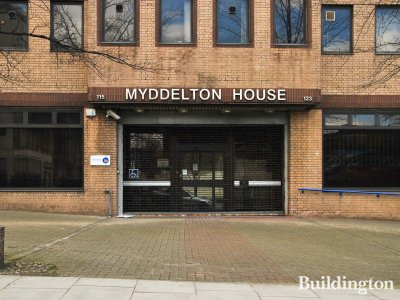 Myddelton House entrance in 2013.